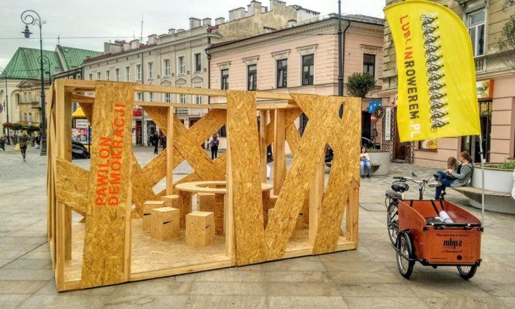 Pawilon demokracji w Lublinie