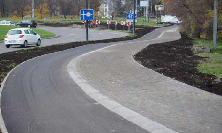 Droga rowerowa przy ul. Turystycznej