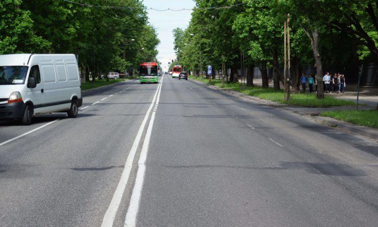 Aleje Racławickie przed przebudową