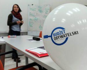 Budżet Obywatelski, balon, spotkanie