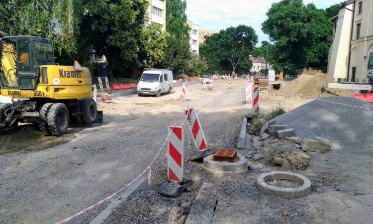 Przebudowa ulicy Kalinowszczyzna