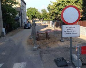 Przebudowa ulicy Pawiej